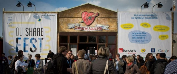 #OuiShareFest: remezcla colaborativa perfecta