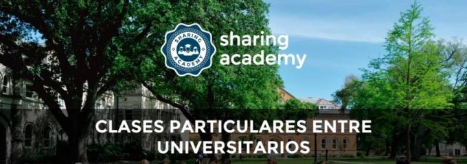 Sharing Academy: plataforma de clases particulares entre universitarios