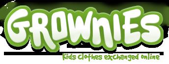logo grownies Consumo Colaborativo para los peques de la casa