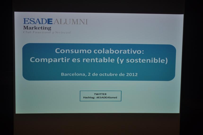 esade consumo colaborativo slide En ESADE Compartir es rentable (y sostenible)