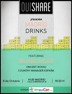 ouishare drinks madrid blablacar 231x300 Reunimos a los visionarios que van a cambiar el mundo en el OuiShare Drinks Madrid