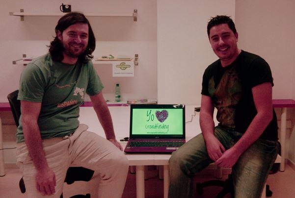 Angel y Alex de UniversoCrowdfunding