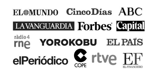 logos medios Bienvenida