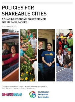 Report Shareable Cities