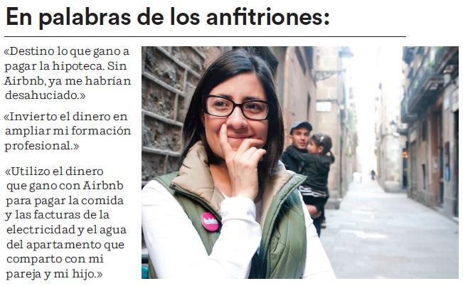 airbnb anfitriones La comunidad Airbnb aporta 128 millones de euros a la economía de Barcelona