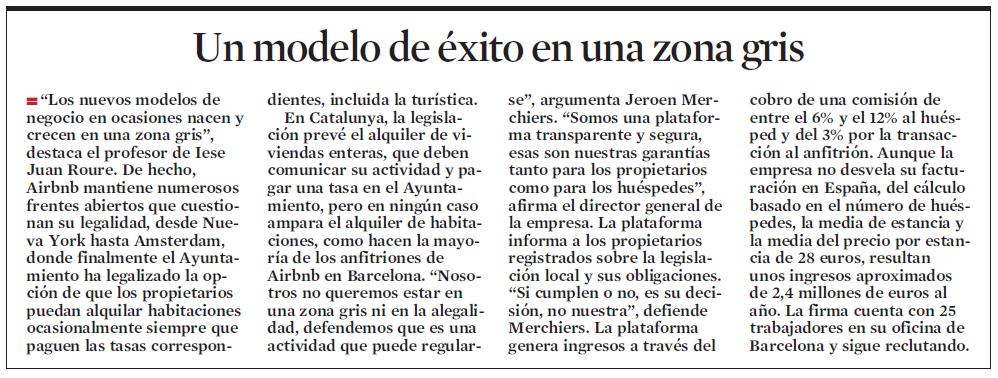airbnb lavanguardia 2 La comunidad Airbnb aporta 128 millones de euros a la economía de Barcelona