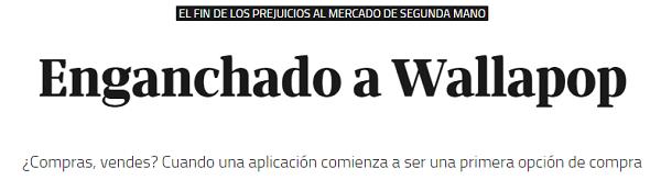 Enganchado Wallapop