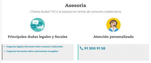 Asesoria OCU - Ciudadano Colaborativo