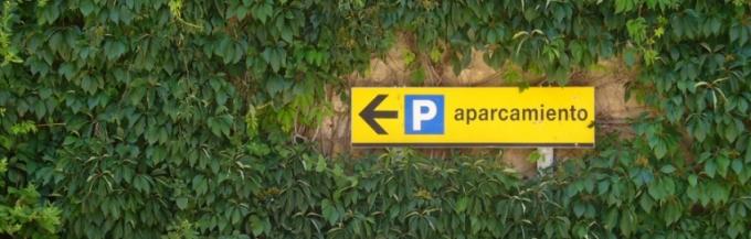 ¿Quieres aparcar en mi casa?