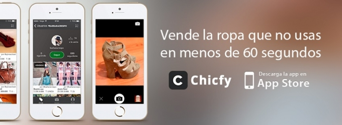 Chicfy lanza para iPhone y dobla usuarias en 10 días