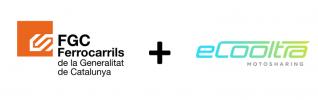 FGC y Cooltra promueven la moto eléctrica compartida en Barcelona