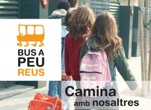 Iniciativa colaborativa Bus a Peu en Reus, Cataluña