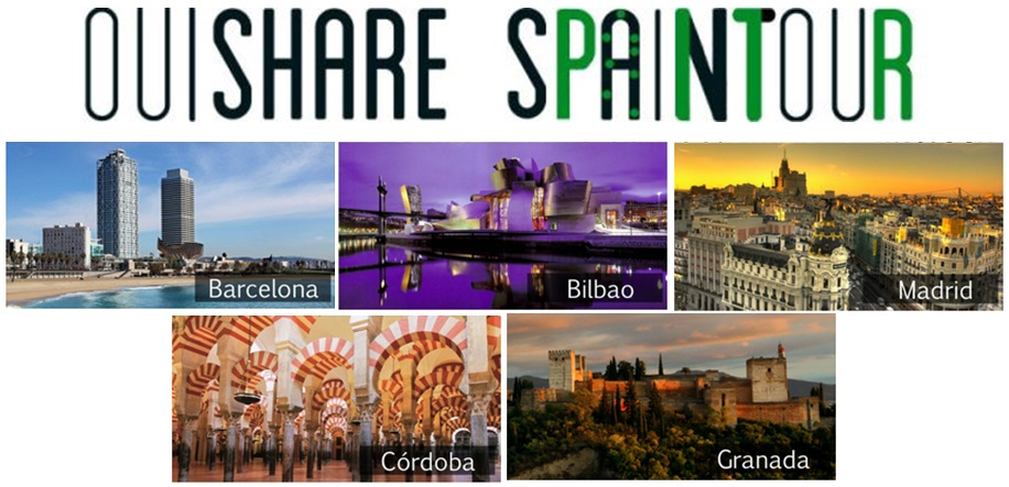 OuiShare Spain Tour