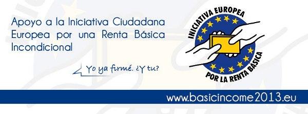 Firmar a favor de la renta básica universal