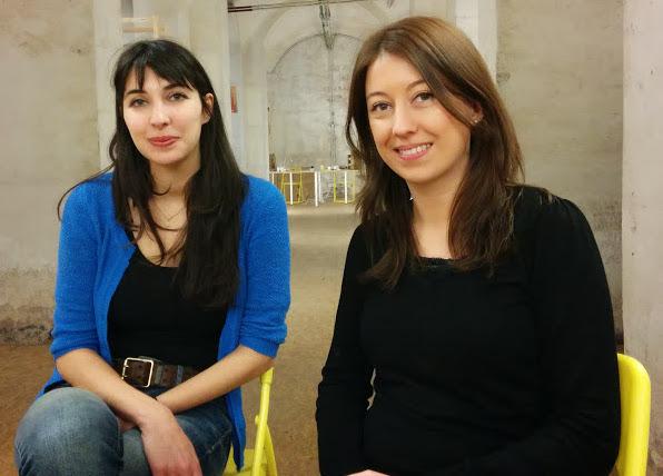 Jessica y Gaela en el MOB