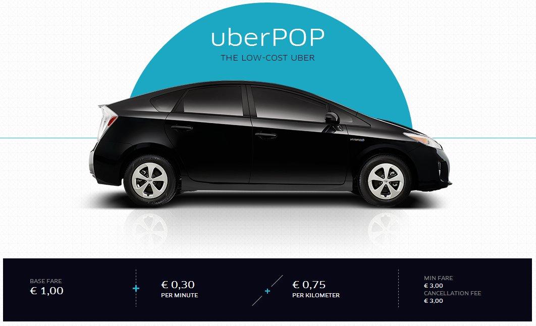 UberPOP Barcelona