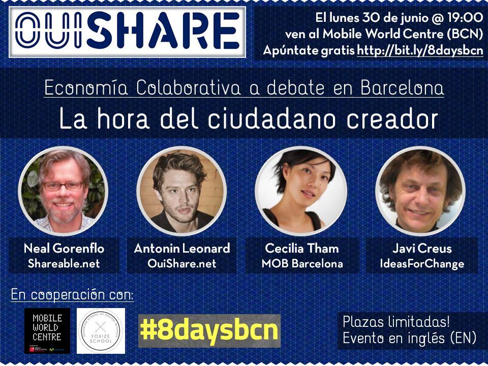 OuiShare Talk Barcelona