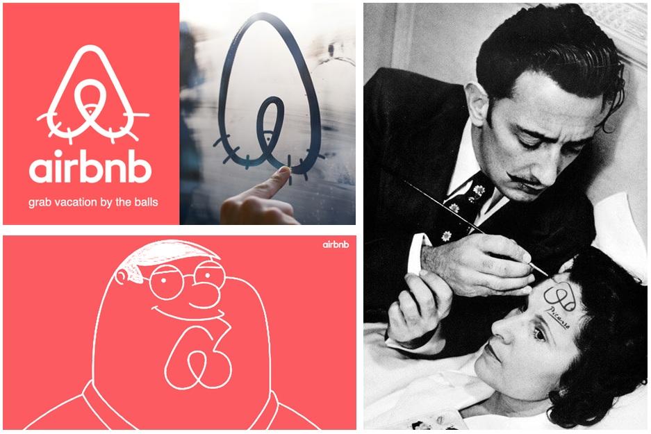 Logos alternativos Airbnb