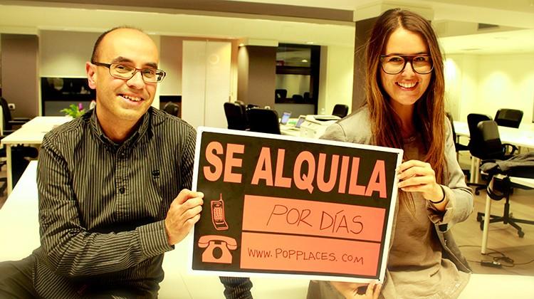 Karen y David fundadores de PopPlaces