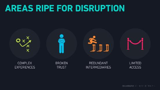 Elementos que ayudan a la disrupción