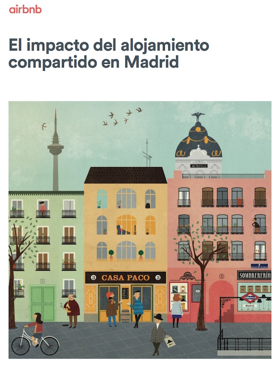 Impacto airbnb Madrid
