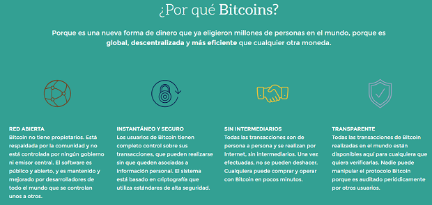¿Por qué Bitcoins?