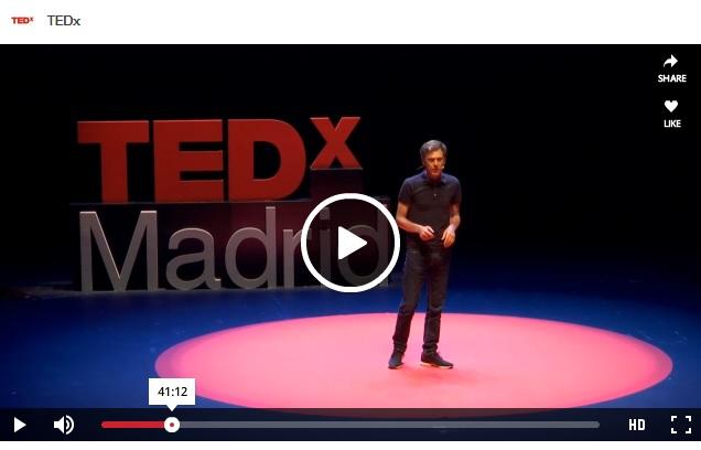 Javi Creus TEDxMadrid