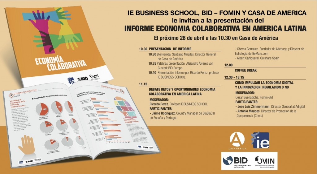 invitacion Informe economia colaborativa américa latina