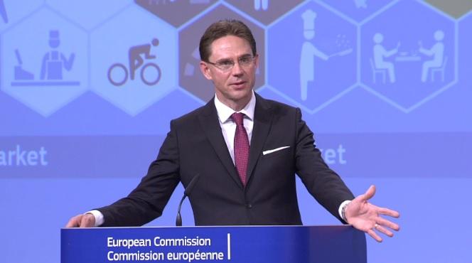 Jyrki Katainen, vicepresidente de la Comisión y responsable de Fomento del Empleo, Crecimiento, Inversión y Competitividad,